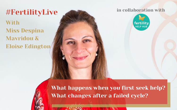 Fertility Live: First appointment and changes after a failed IVF cycle